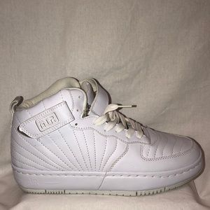 All white high top sneakers SALE!(Air shoes 2*25)